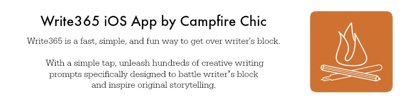 Campfire Chic Shop - Creative Writing Prompt App for iOS and Apple
