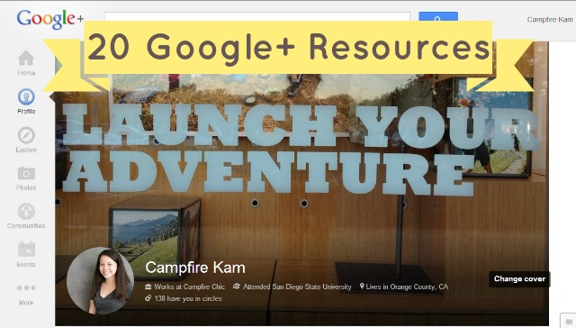 Google Plus Resources