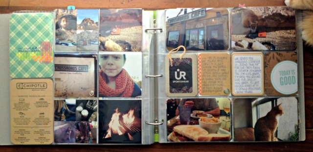 Project Life Week 38 - Flip Side via Campfire Chic