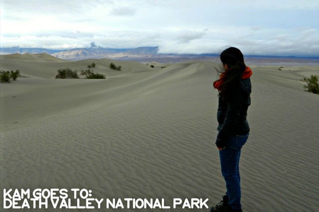 Kam of Campfire Chic Visited Death Valley National Park
