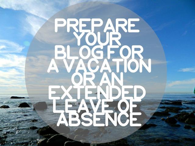 Take a blog break