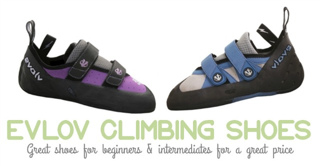 Climbing Shoes for Beginners - Evolv Shoes for Women by Campfire Chic