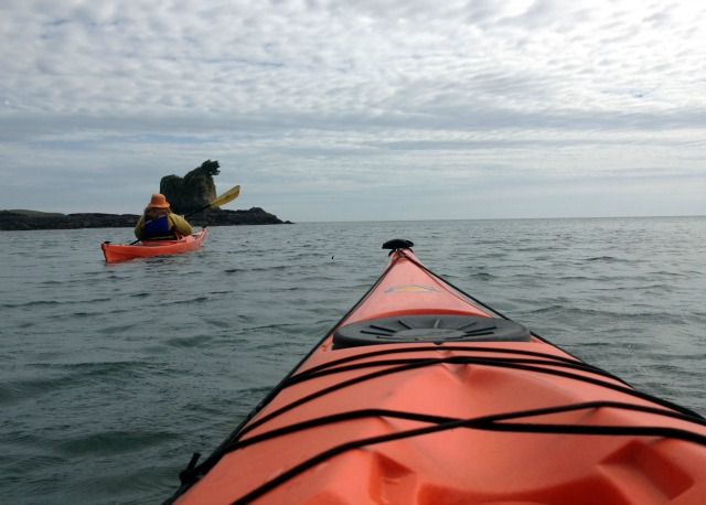 Kayaking in Strait of Juan de Fuca