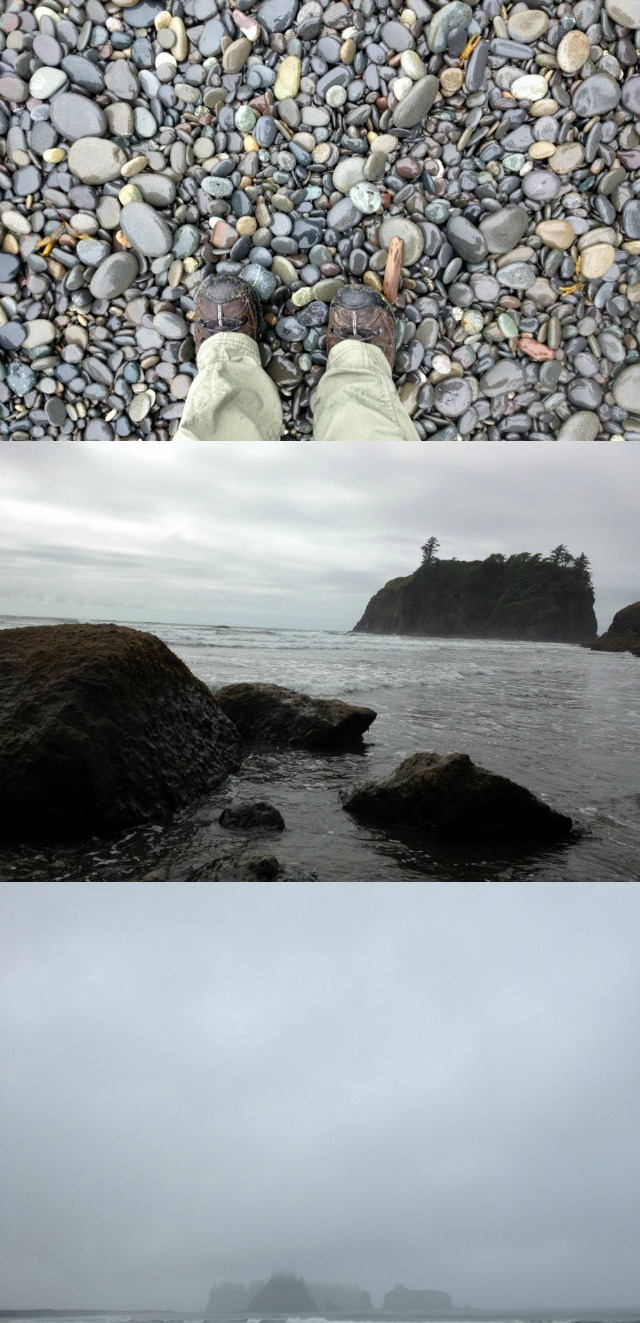 Beach Stacks - Olympic National Park - Campfire Chic