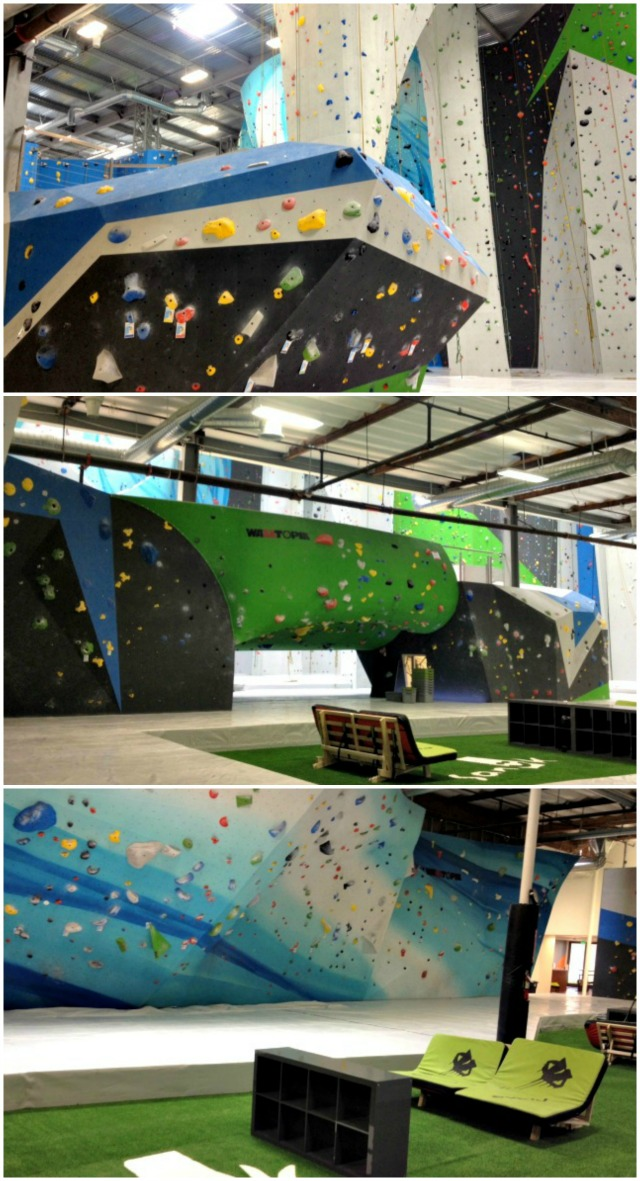 Sender One Climbing Gym in Orange County