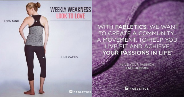 Inexpensive activewear - Fabletics monthly service - Campfire Chic