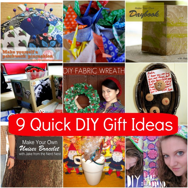 9 quick diy gift ideas campfire chic