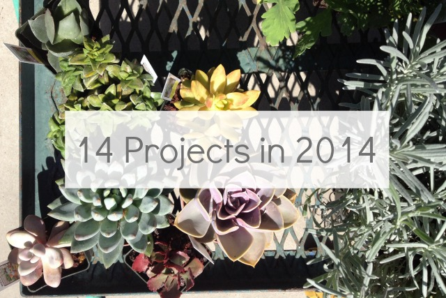 14 Projects for 2014 from Campfire Chic