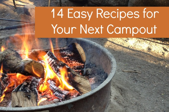 Easy Camping Recipes for Families - Campfire Chic