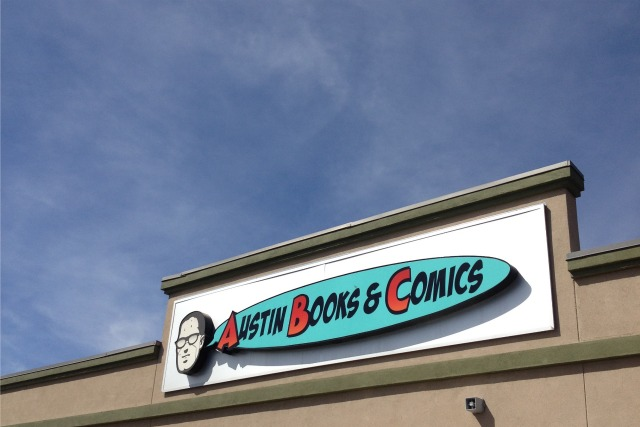 Austin Books and Comics Shop in North Austin - Campfire Chic