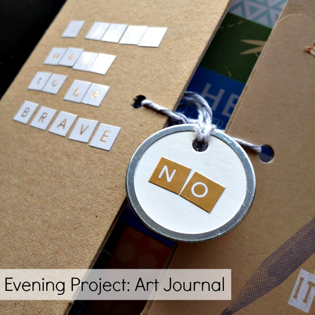 Art Journal - Evening Project for Creatives - Campfire Chic