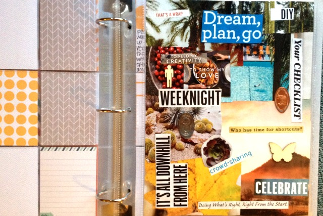 One Little Word Vision Board - Campfire Chic