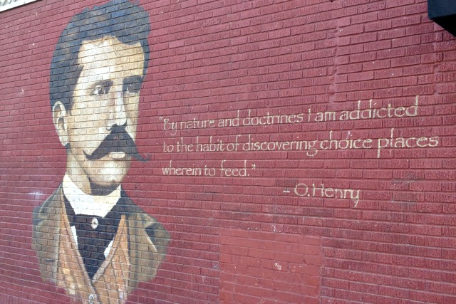 O. Henry Mural in Austin, Texas - Campfire Chic