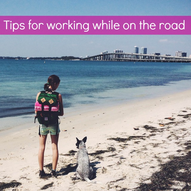 3 Tips for Working Remotely by Katie of The Morning Fresh via Campfire Chic