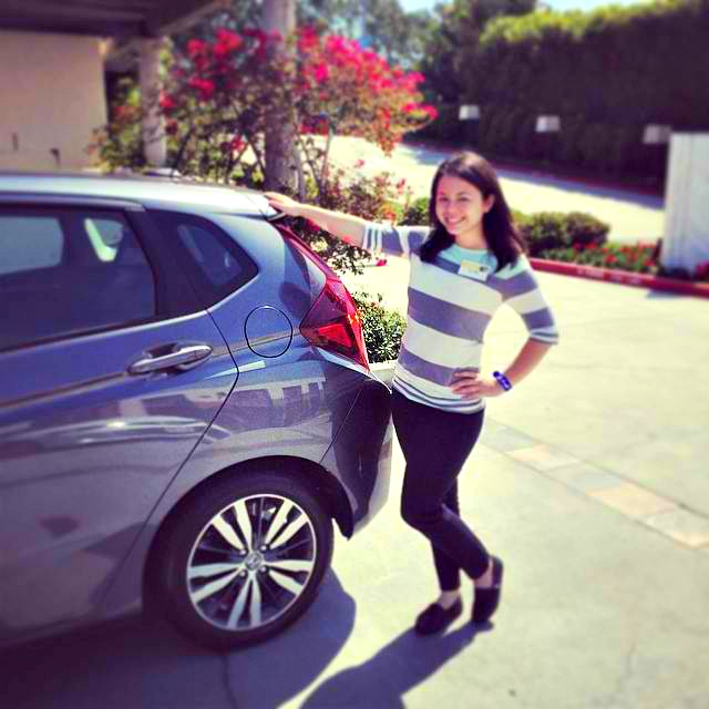 2015 Honda Fit Test Drive in San Diego - Campfire Chic