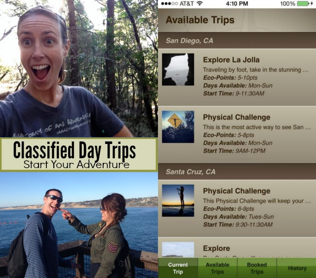 Classified Day Trips App by Ethos Adventures - Campfire Chic