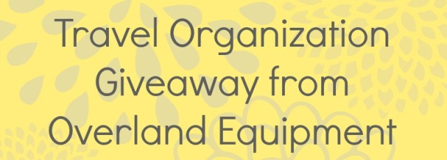 Overland Equipment Giveaway