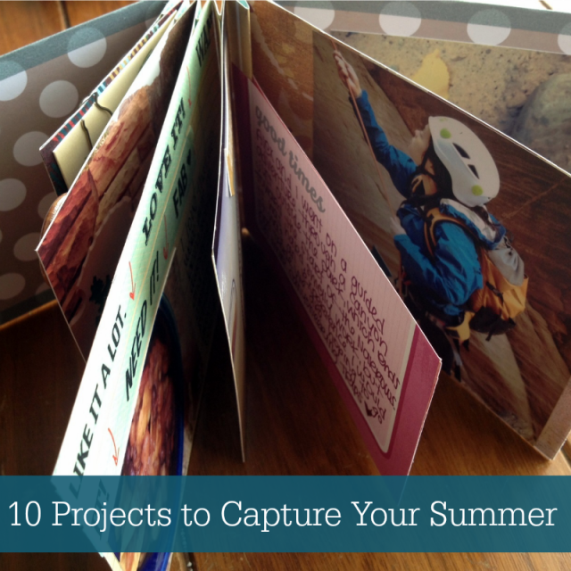 Easy Photo Projects to Capture Your Summer Adventures - Campfire Chic