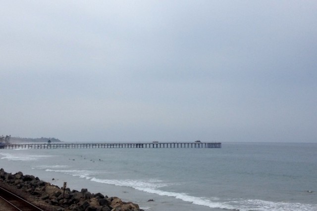 View of San Clemente Pier from Beach Trail - Campfire Chic