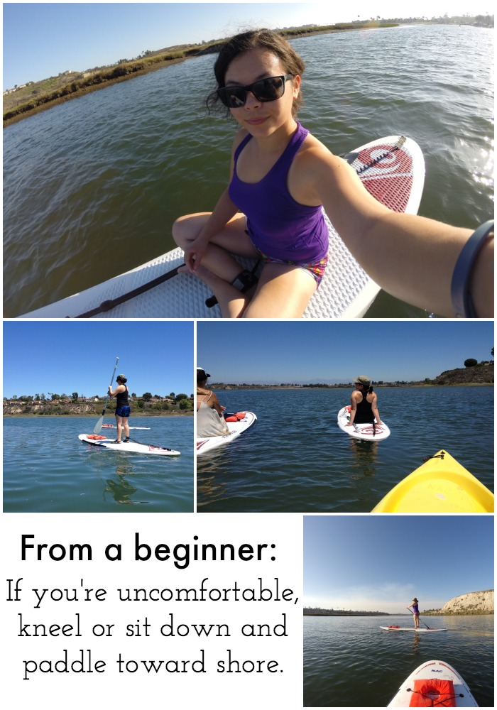 From a Beginner - Stand Up Paddleboarding from Campfire Chic