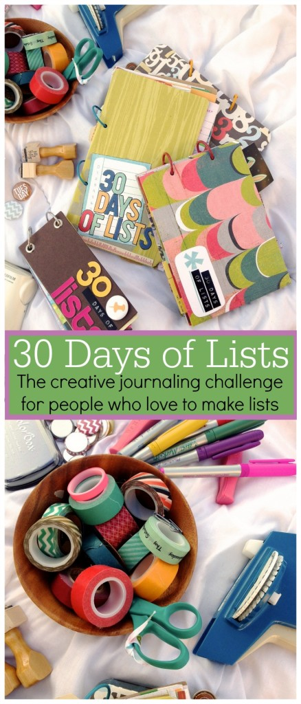 S14 Pinterest image for 30 Days of Lists