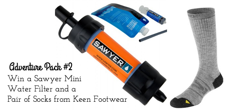 Sawyer Mini Water Filtration and Keen Socks Giveaway on Campfire Chic