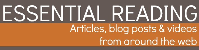 Roundup of helpful articles, blog posts, and videos from around the net