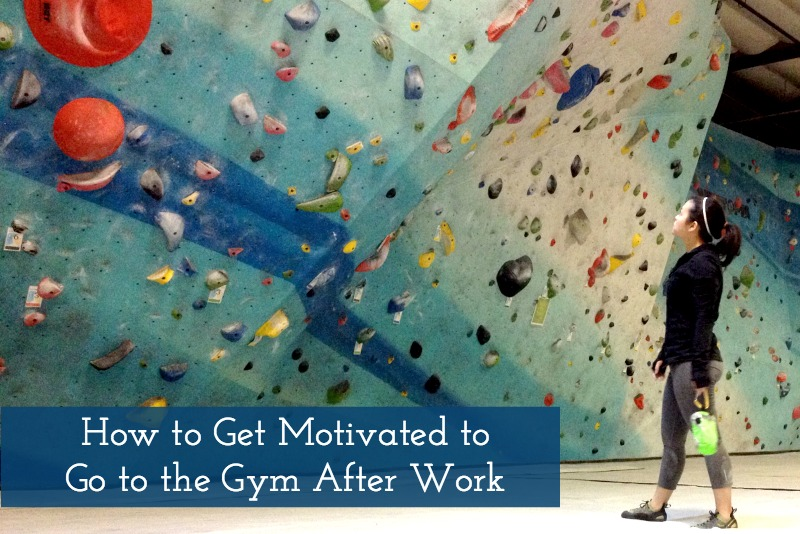 How to Get Motivated to Go to the Gym After Work with Kam of Campfire Chic