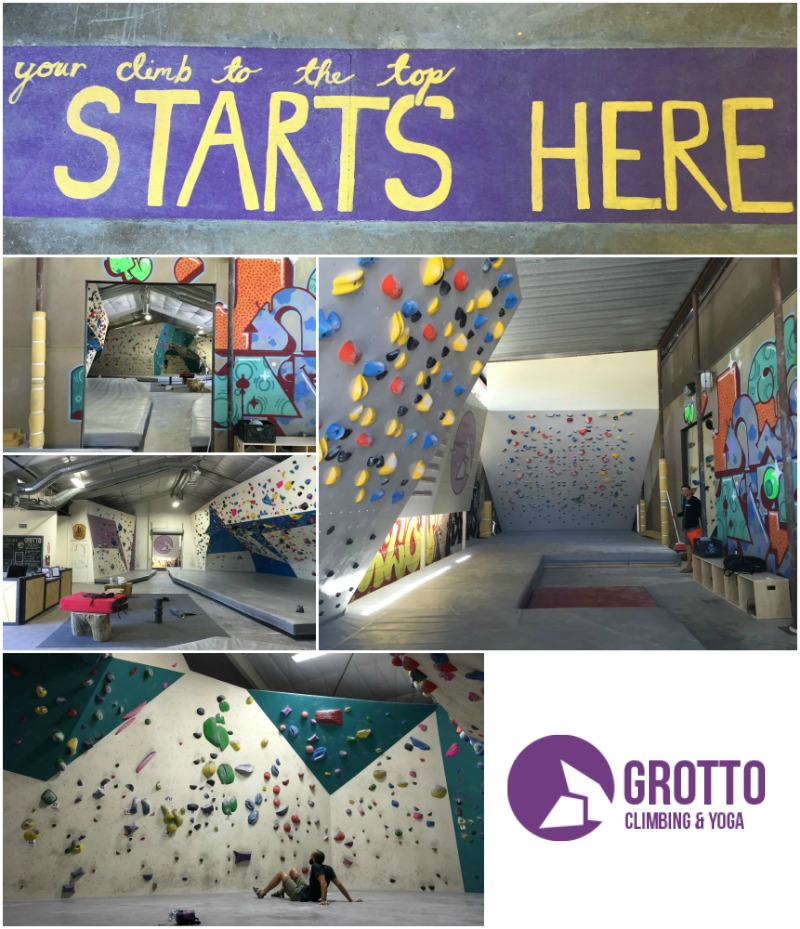 Grotto Climbing and Yoga Bouldering Gym in San Diego - Campfire Chic