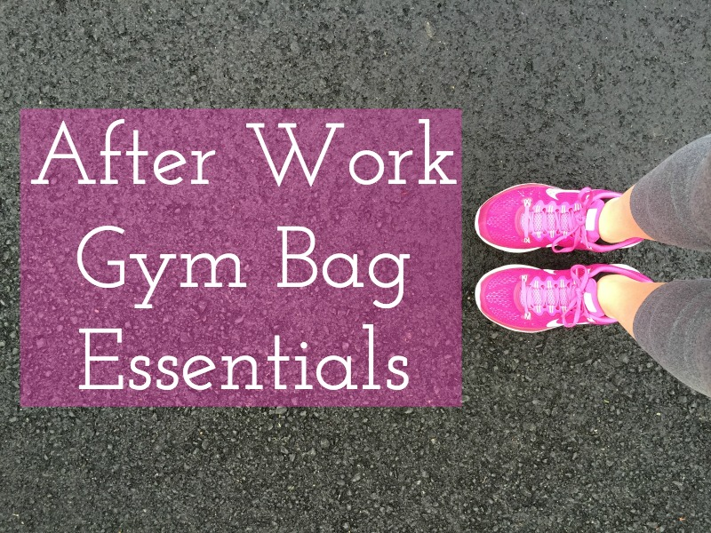 The Essential Gym Bag Items for After Work Workouts with Kam of Campfire Chic