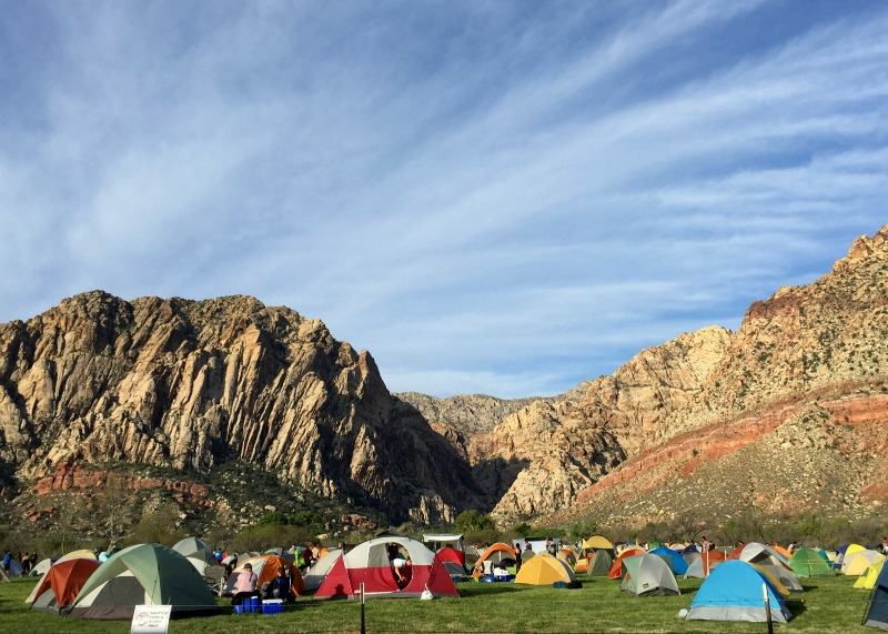 Red Rocks Rendezvous 2015 - Campground