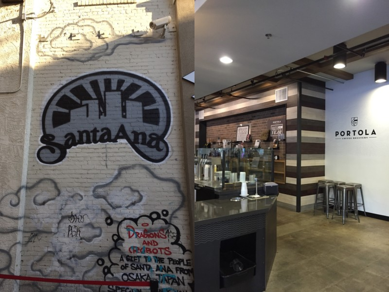 Portola Coffee Downtown Santa Ana 4th Street Market - Campfire Chic