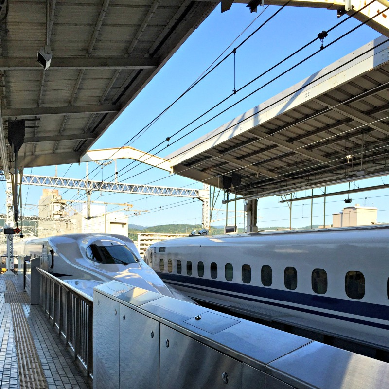 High Speed Rail in Japan - Campfire Chic
